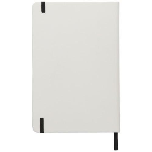 Witte A5 spectrum notitieboek met gekleurde sluiti, View 3