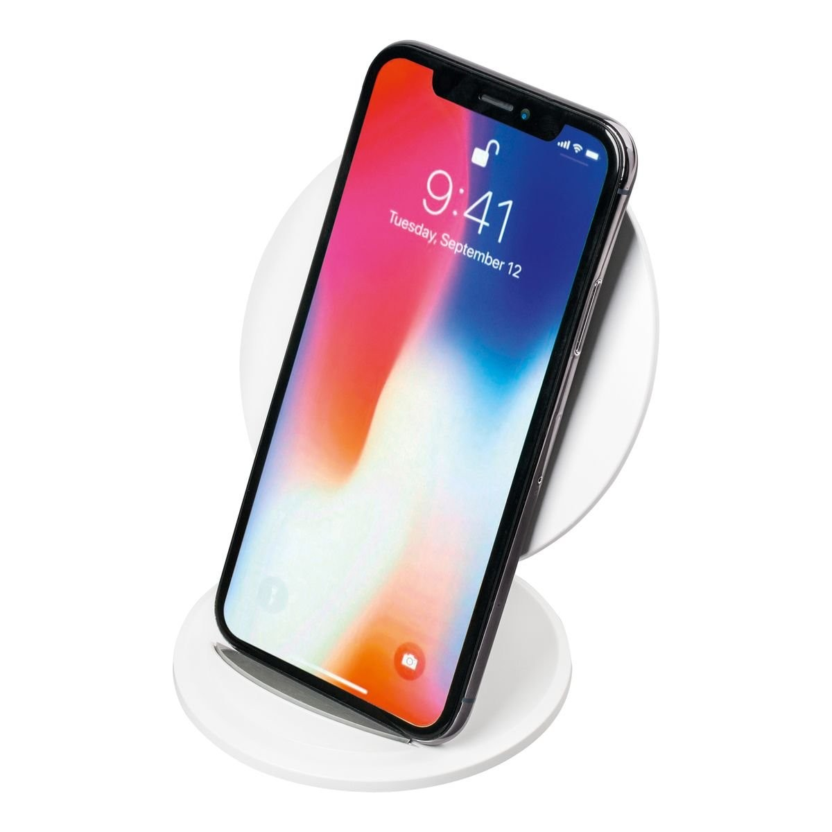 Wireless charging stand REFLECTS-VENICE WHITE, View 3