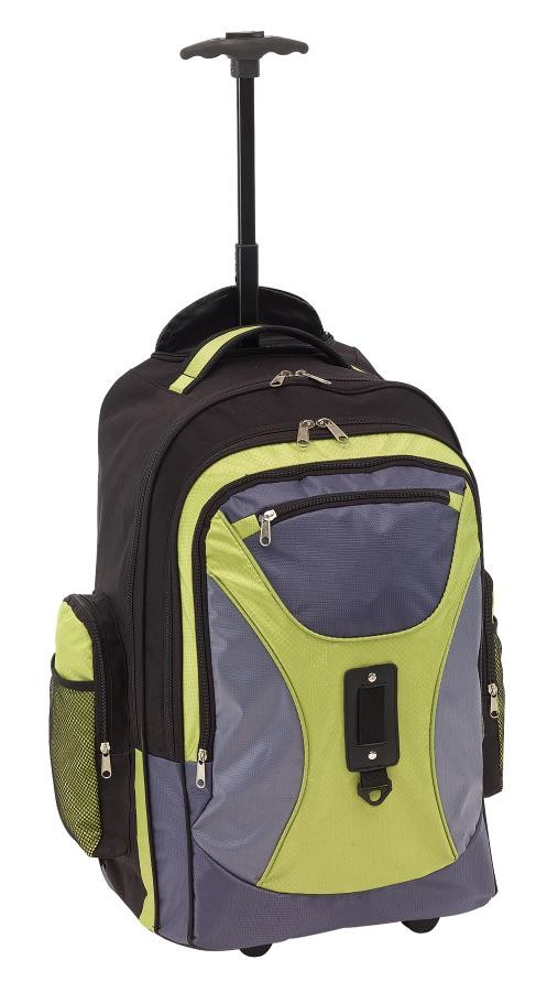 Trolley-backpackComforty600D grey/gre.