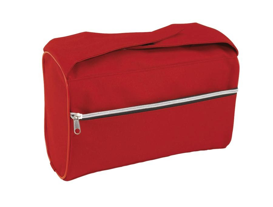Toilet bag  Daily 600-D, red