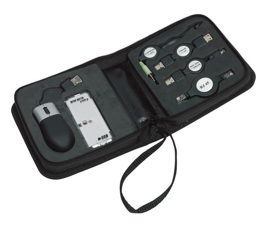 Portable USB/ IT kit 6 pcs., Hacker