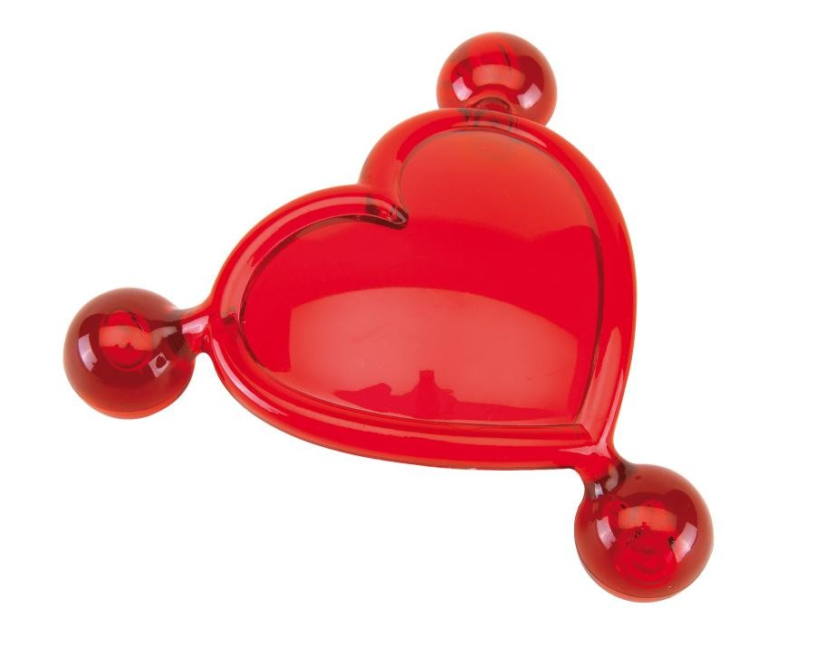 Massager heart shaped For Two