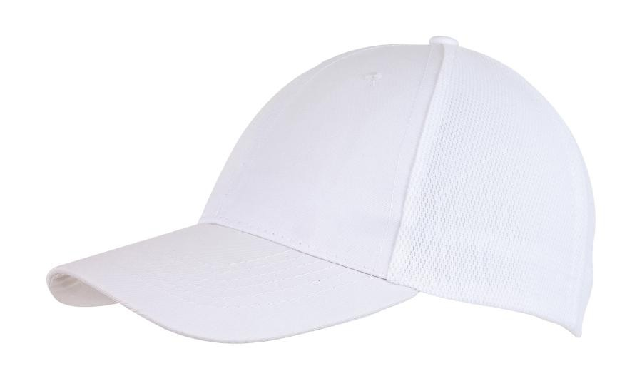 6-Panel cap with Mesh Pitcher