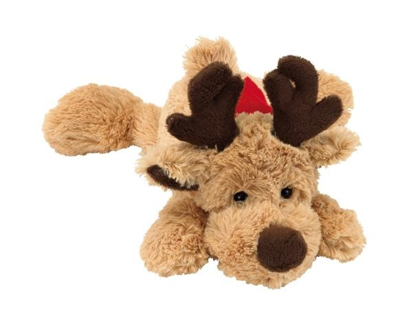 Plush lying elk Fridolin