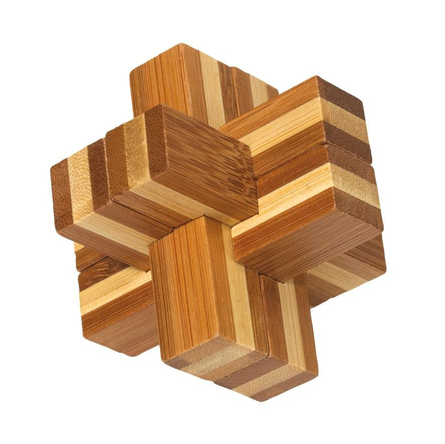 Bamboos puzzle Bend