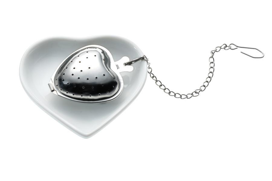 Tee-egg with Heart cup TEA & HEART