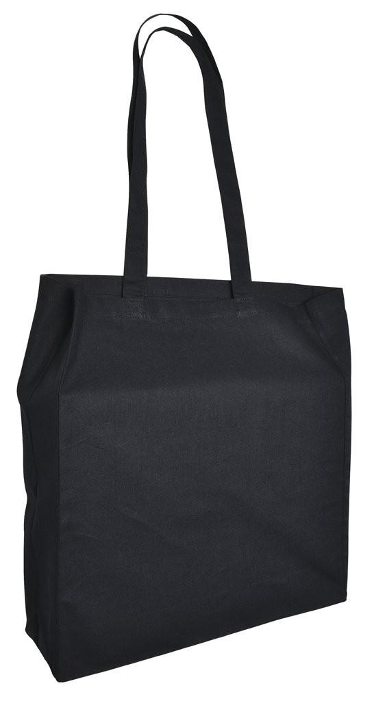 Cotton Bag Lang Hengsel en Souffle Ecru acc. Ecru