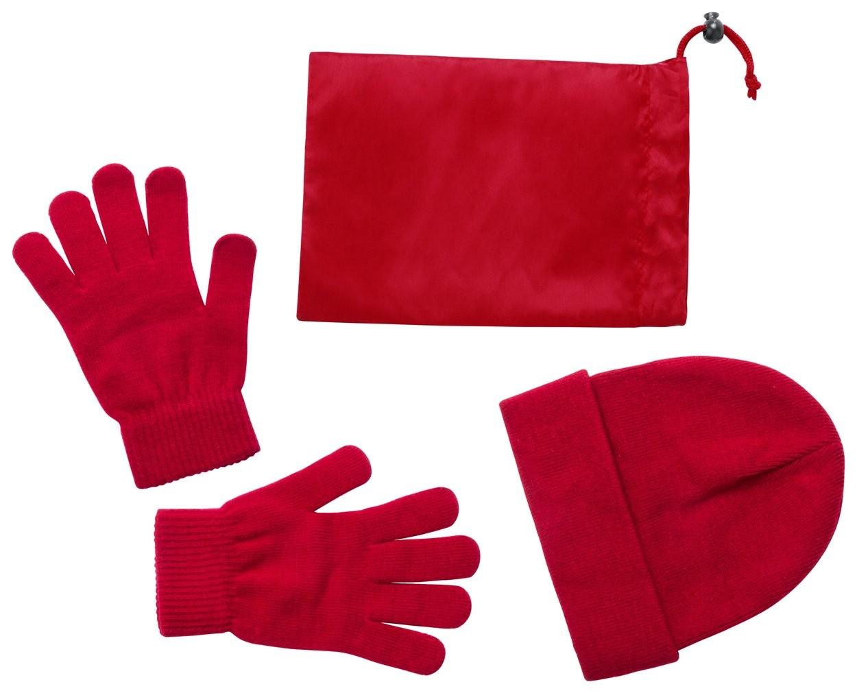 """muts en handschoenen """"Duvel"""""""