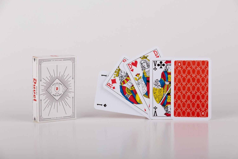 Pokerkaarten cellofaan (Classic)