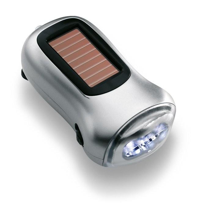 LED zaklamp groene energie DYNASOL