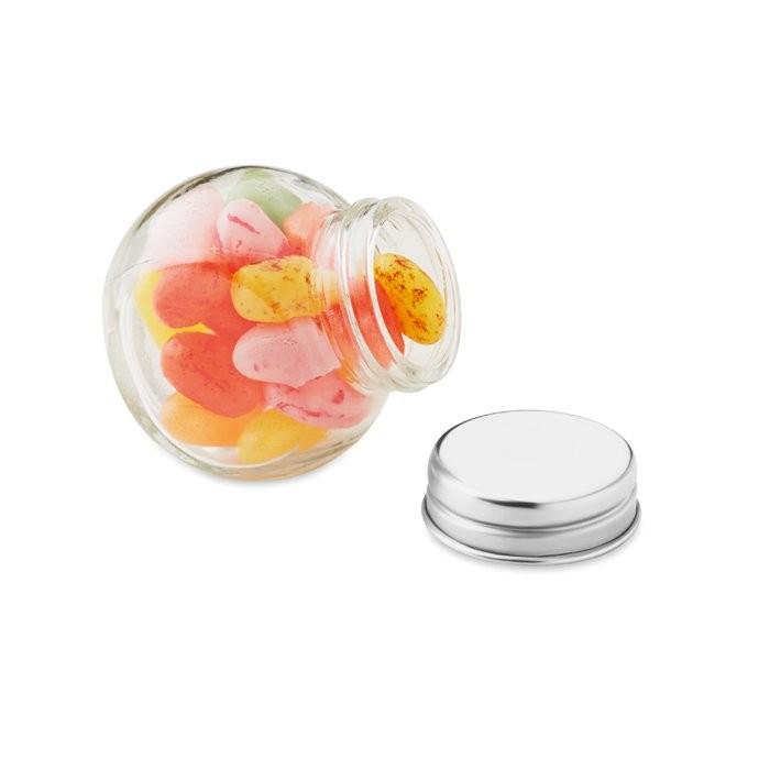 Glazen pot gevuld met snoepjes BEANDY, View 7