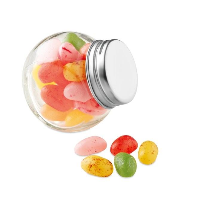 Glazen pot gevuld met snoepjes BEANDY, View 5