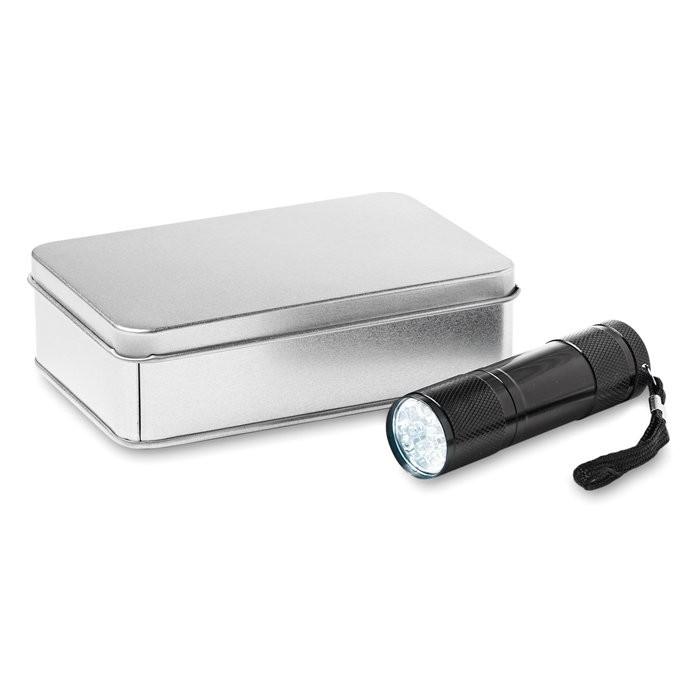 Aluminium LED zaklamp LED PLUS