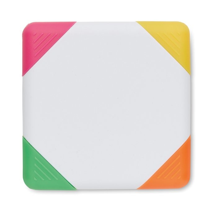 Markeerstif 4 kleuren SQUARIE