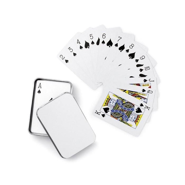 Speelkaarten in blikken doosje AMIGO, View 2