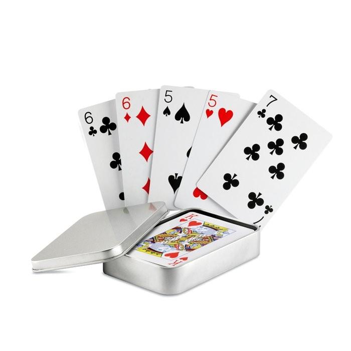 Speelkaarten in blikken doosje AMIGO, View 4