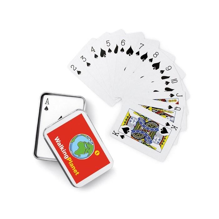 Speelkaarten in blikken doosje AMIGO, View 3