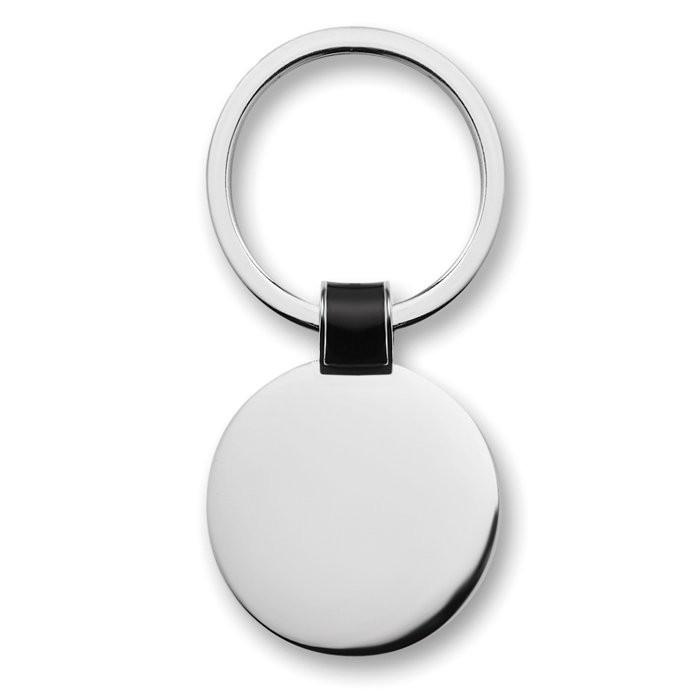 Metalen sleutelhanger ROUNDY, View 3