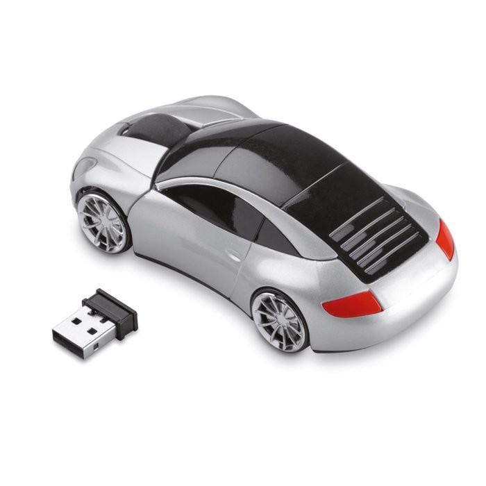 Autovormige draadloze muis SPEED, View 2