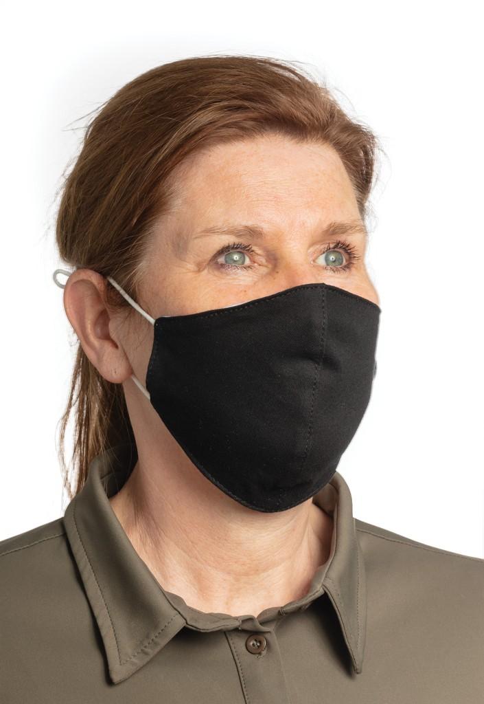 Herbruikbaar 2 laags katoenen gezichtsmasker, View 2