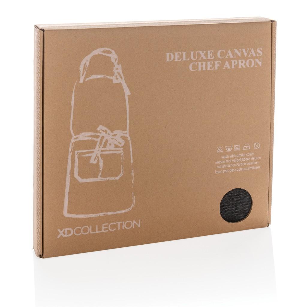 Deluxe canvas keukenschort, View 2