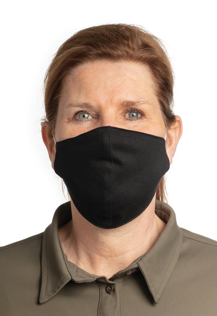 Herbruikbaar 2 laags katoenen gezichtsmasker