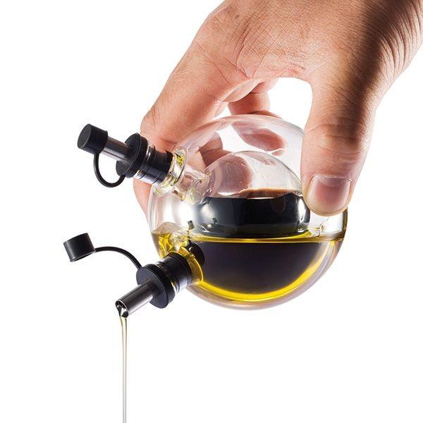 Orbit olie & azijn set, zwart, View 3