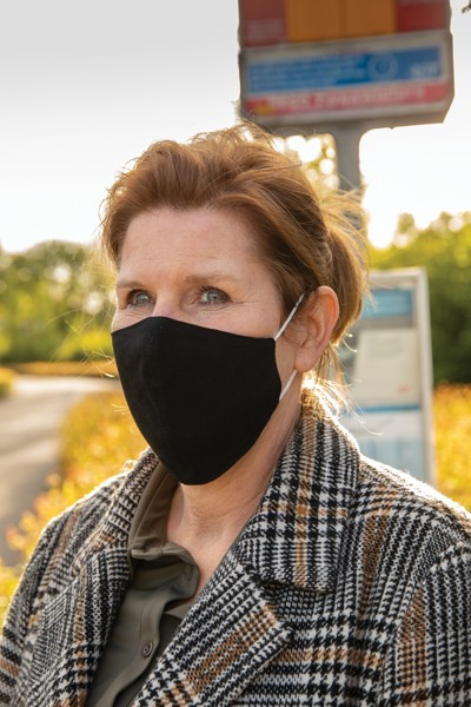 Herbruikbaar 2 laags katoenen gezichtsmasker, View 8