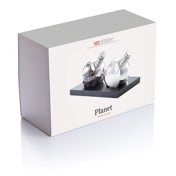 Planet peper & zout set, zwart, View 7