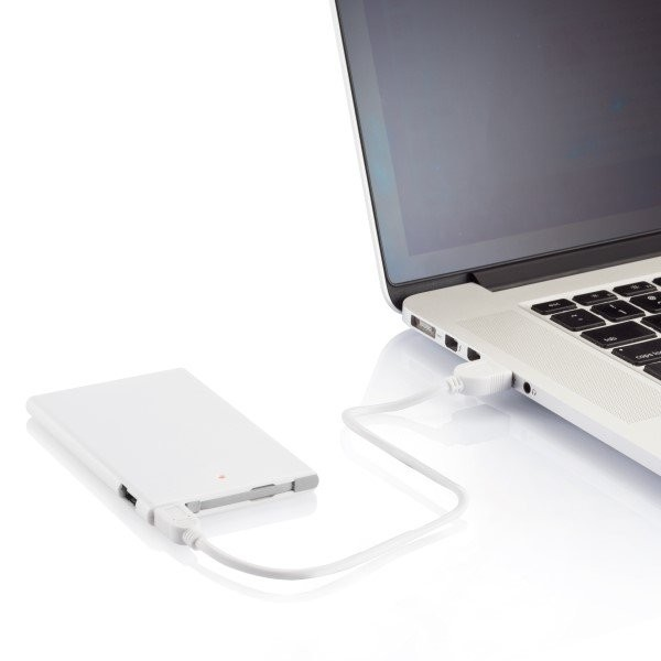 2500 mAh powerbank, wit/grijs, View 11