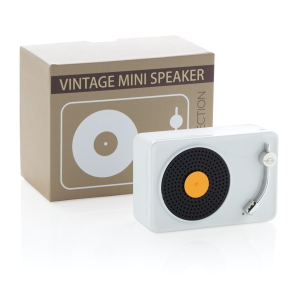 Mini Vintage 3W draadloze speaker, View 4