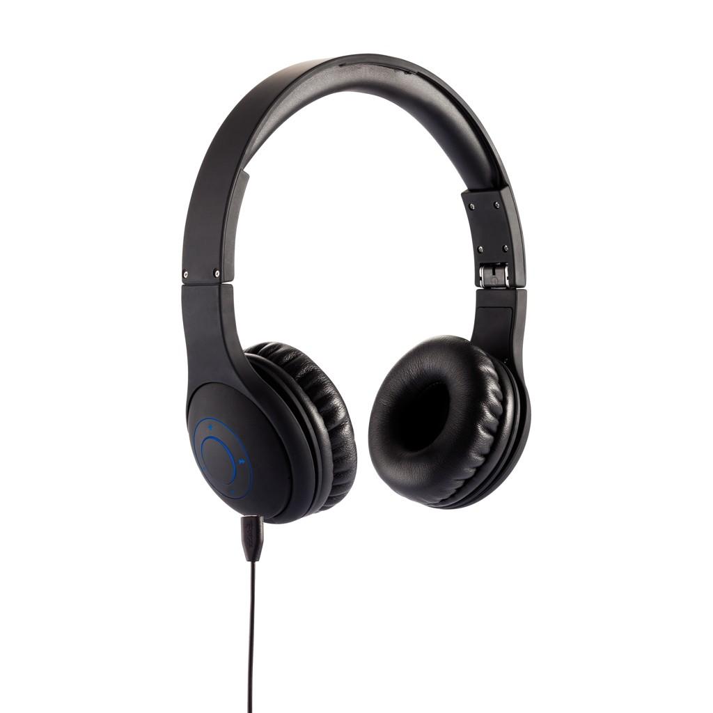 Opvouwbare bluetooth hoofdtelefoon, zwart, View 12
