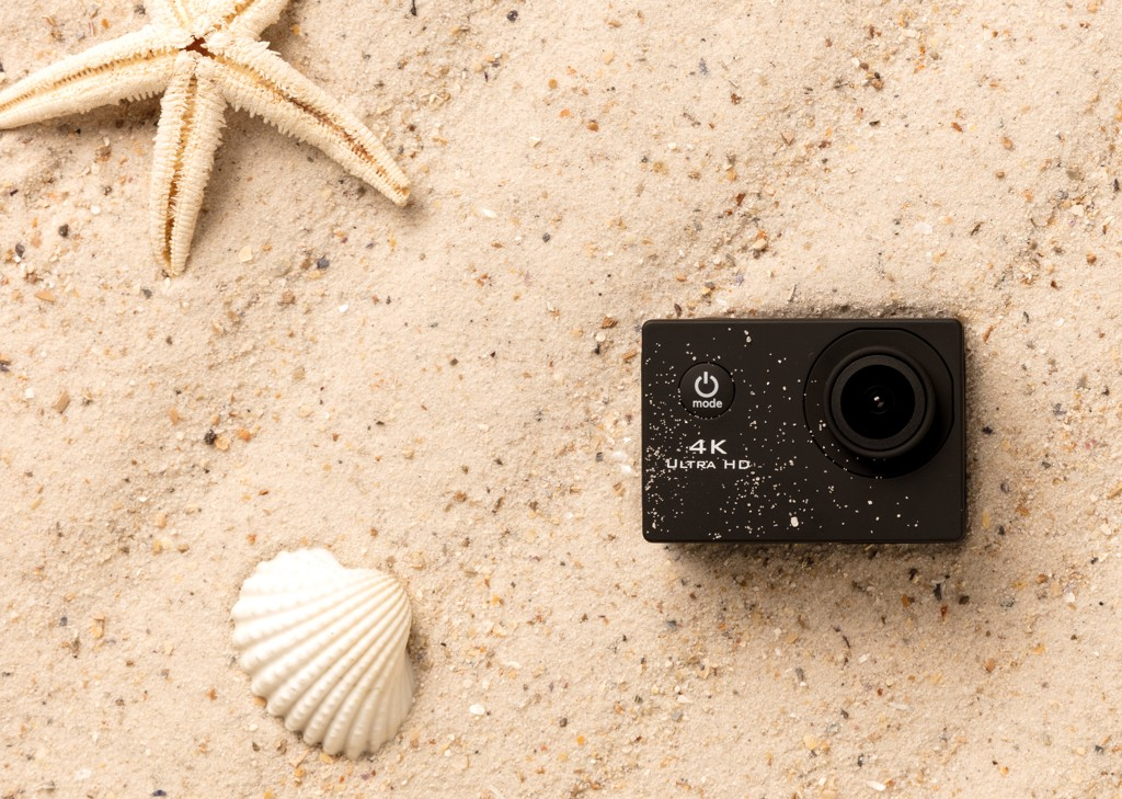 4K Action camera, View 7