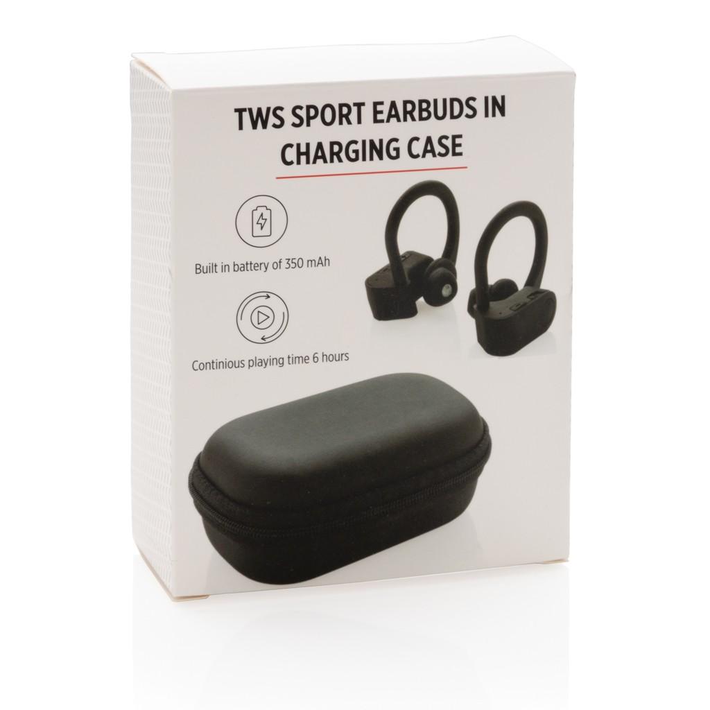 TWS sport oordoppen in oplaadcassette, View 6