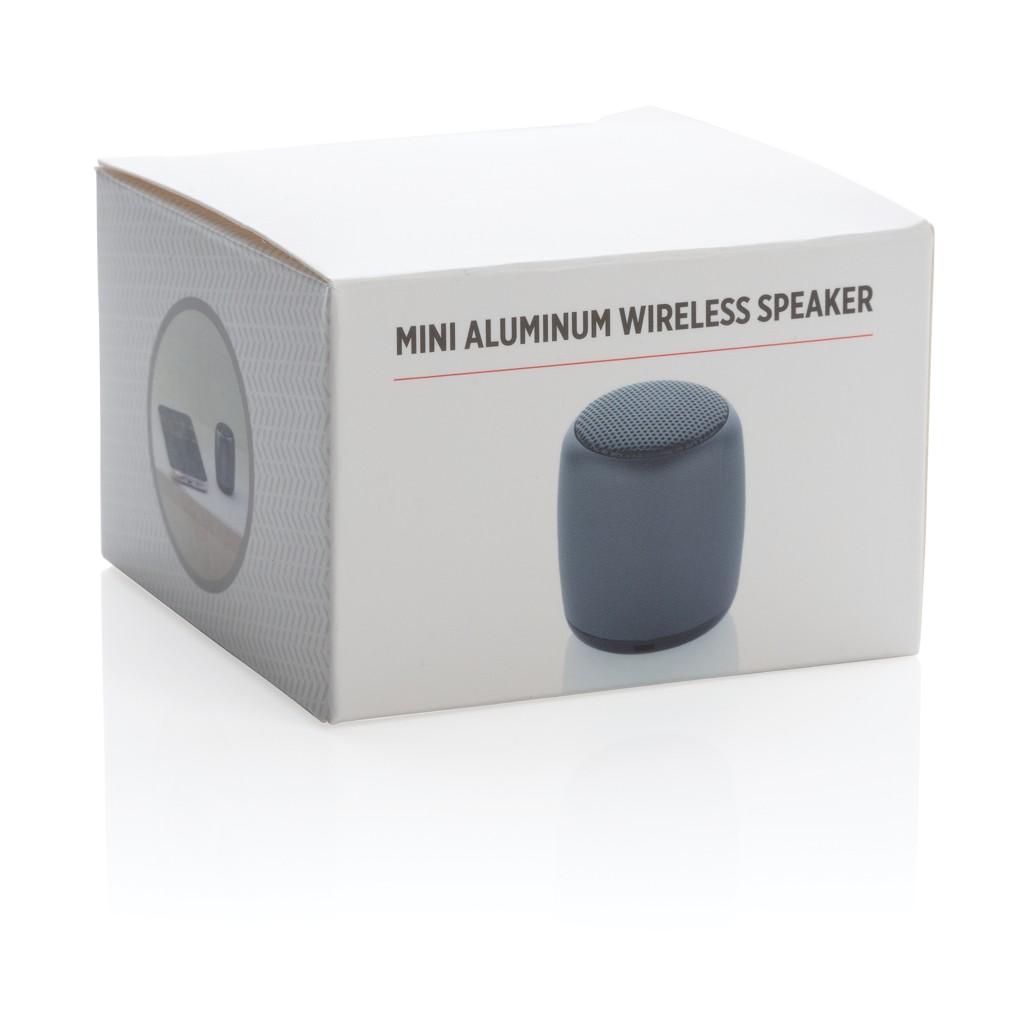 Mini aluminium draadloze speaker, View 4