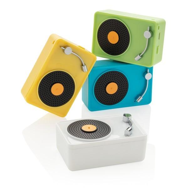 Mini Vintage 3W draadloze speaker, View 7