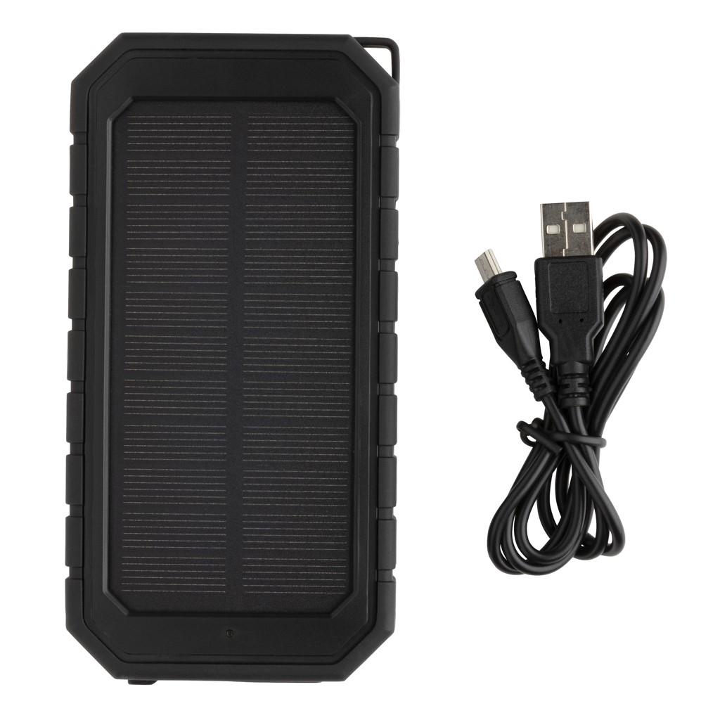 10.000 mAh Solar Powerbank met 10W draadloze oplader
