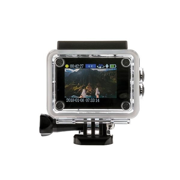 4K Action camera, View 3