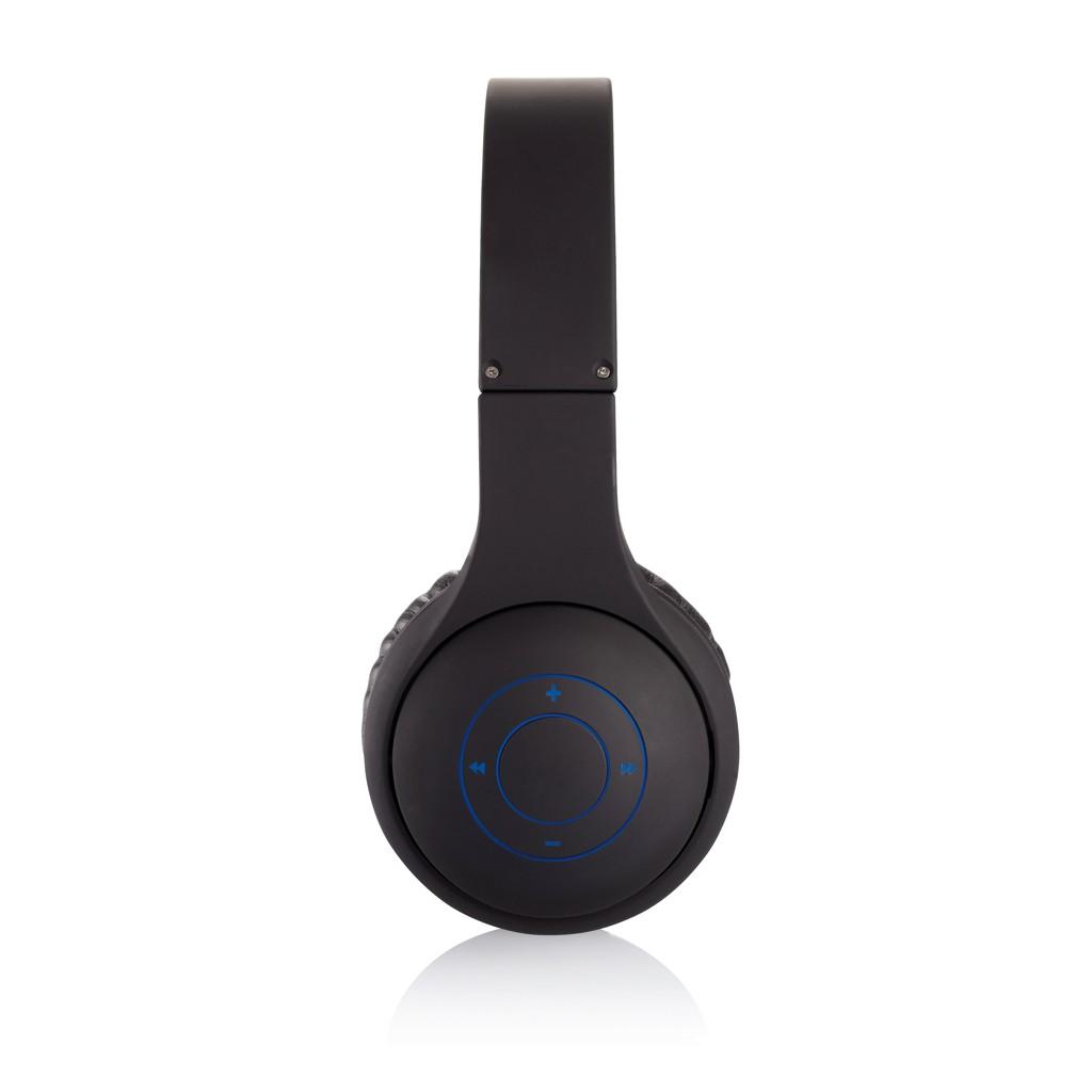 Opvouwbare bluetooth hoofdtelefoon, zwart, View 9