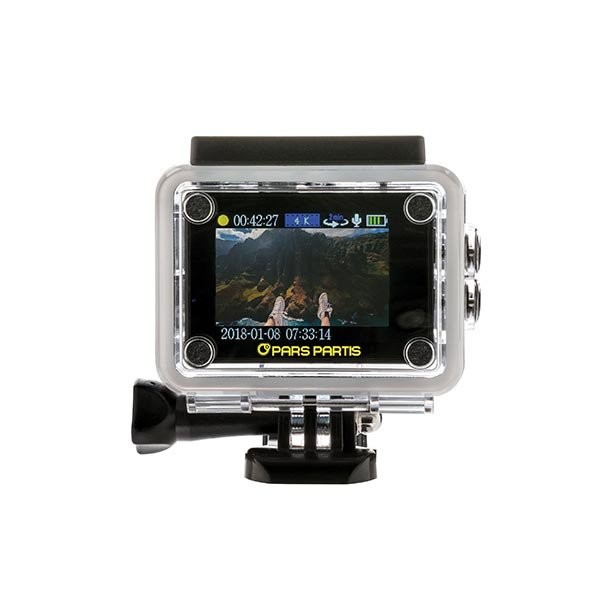 4K Action camera, View 6