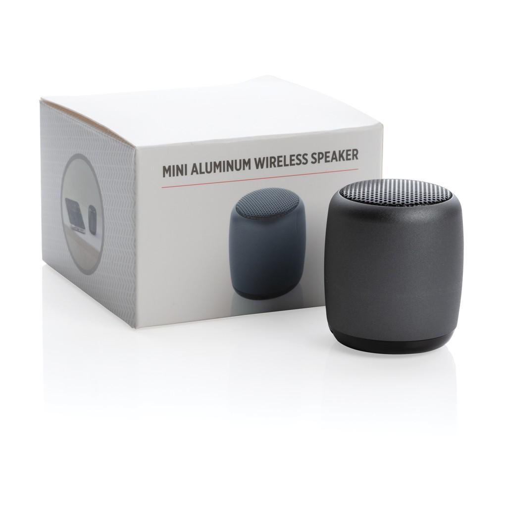 Mini aluminium draadloze speaker, View 3