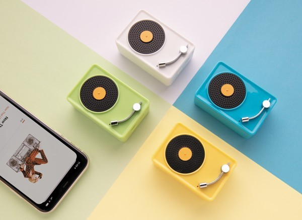 Mini Vintage 3W draadloze speaker, View 8