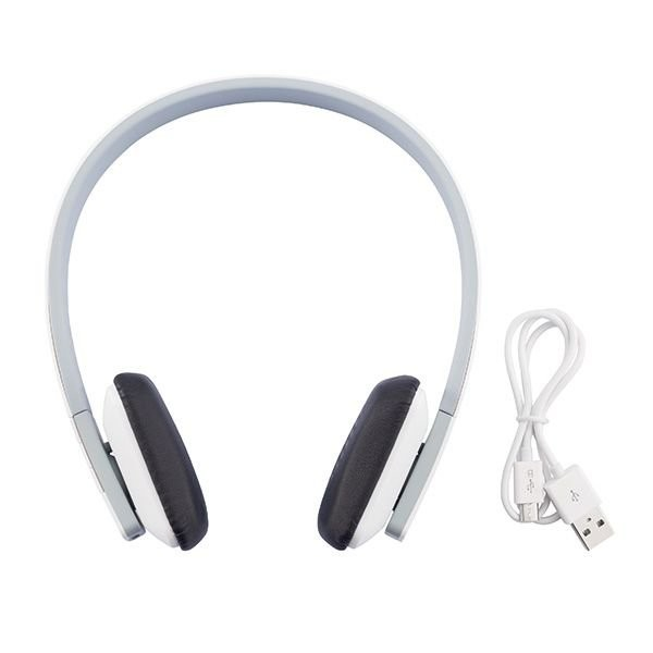 Stereo bluetooth hoofdtelefoon, wit, View 4