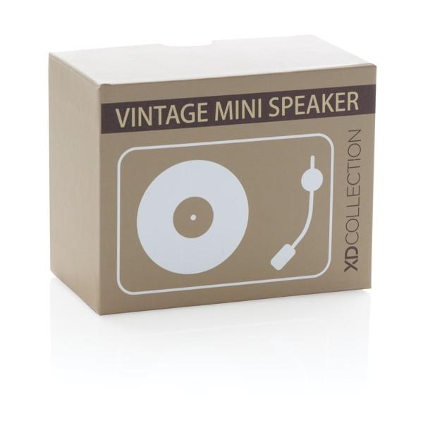 Mini Vintage 3W draadloze speaker, View 5