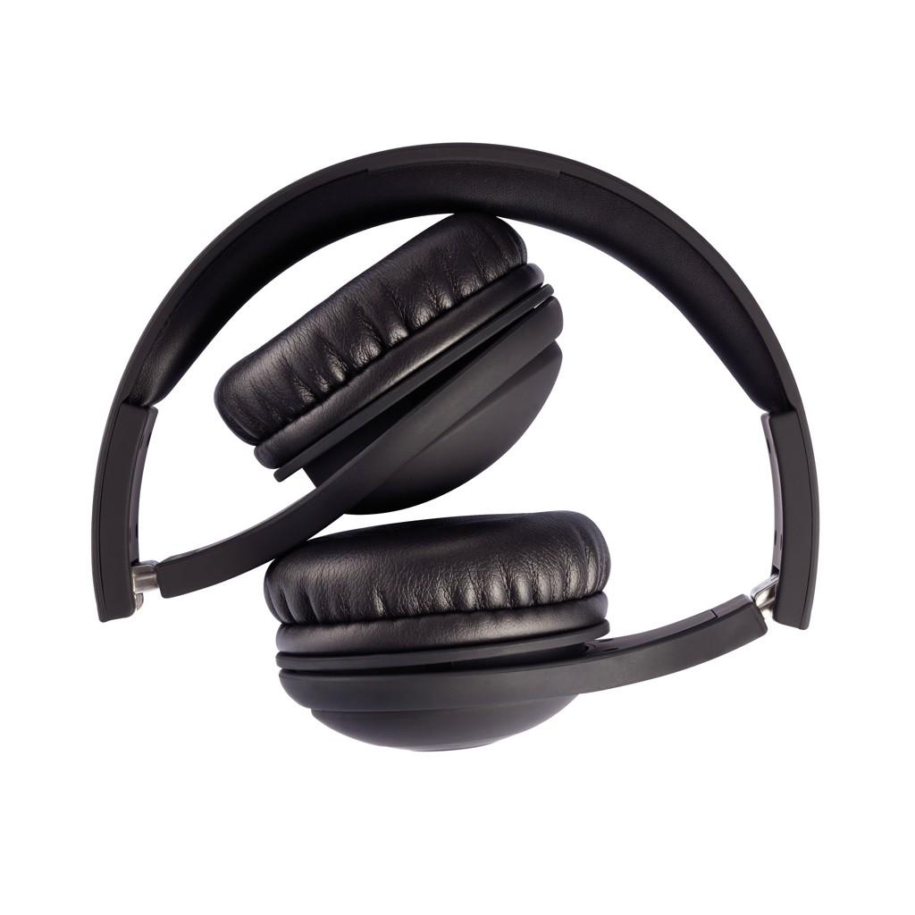 Opvouwbare bluetooth hoofdtelefoon, zwart, View 13
