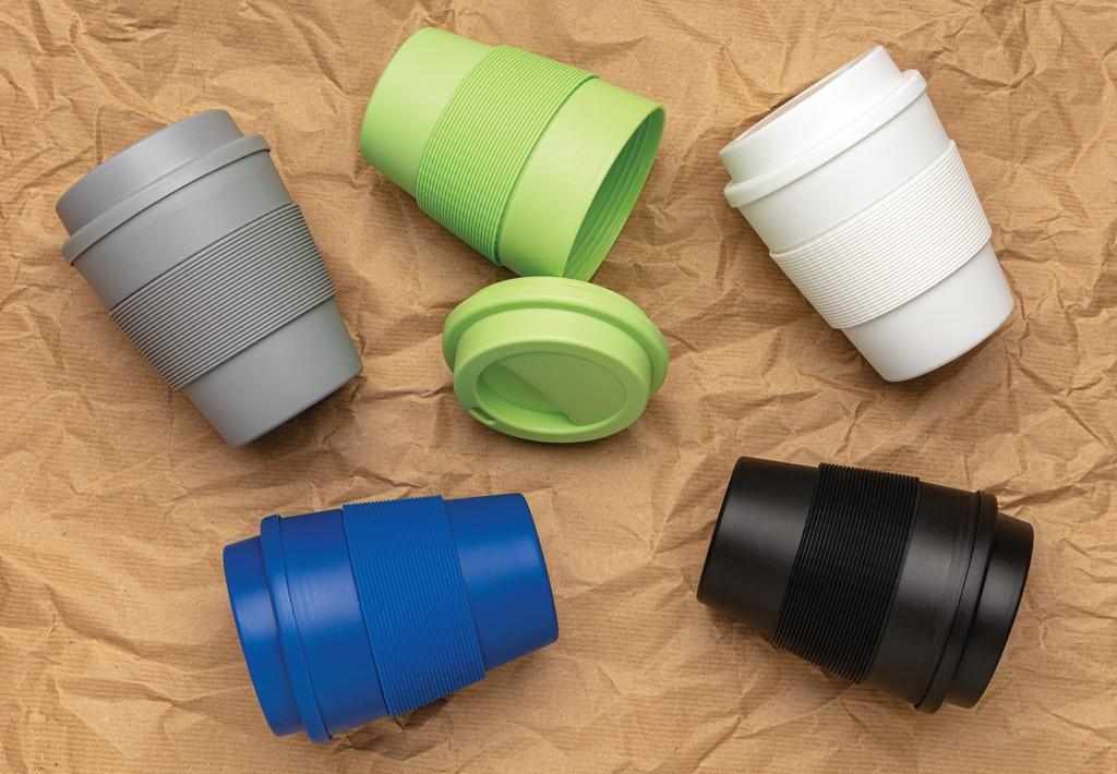 Herbruikbare koffiebeker met schroefdop 350ml, View 5
