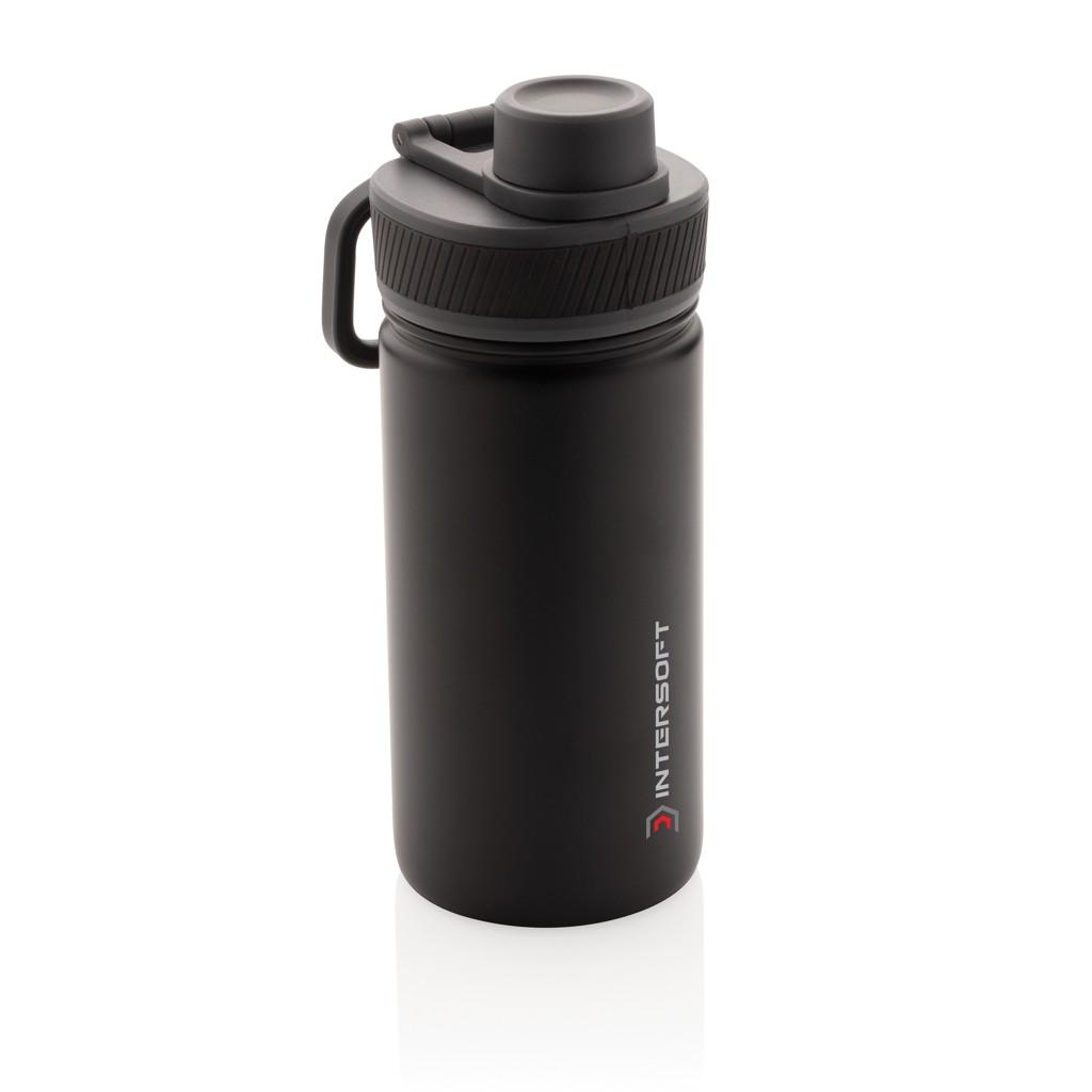 Vacuüm roestvrijstalen fles met sportdop 550ml, View 8
