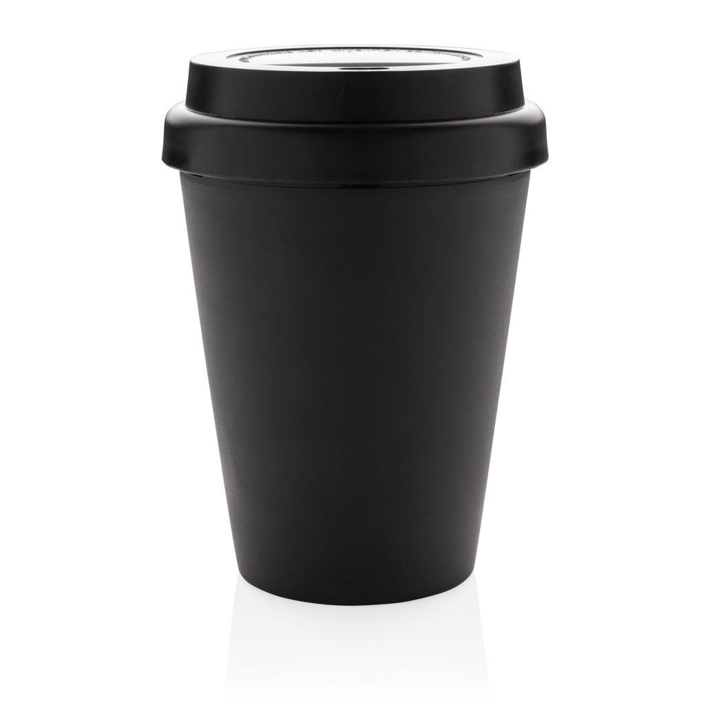 Herbruikbare dubbelwandige koffiebeker 300ml, View 3