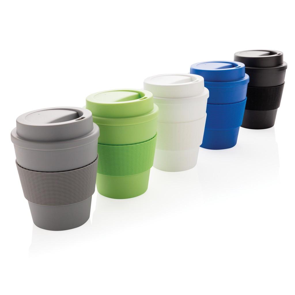 Herbruikbare koffiebeker met schroefdop 350ml, View 4