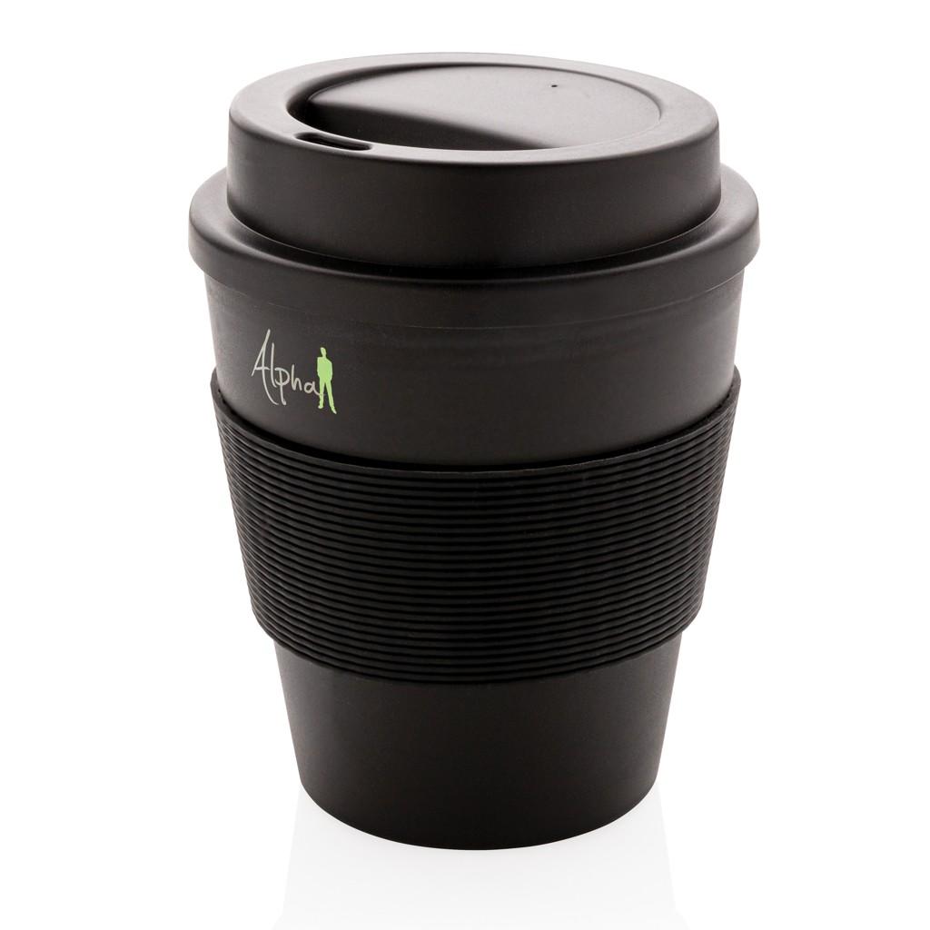 Herbruikbare koffiebeker met schroefdop 350ml, View 3